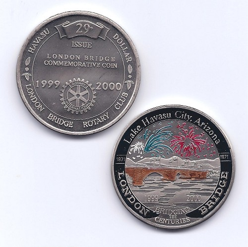 Coin #29 - 1999-2000 Color - $20