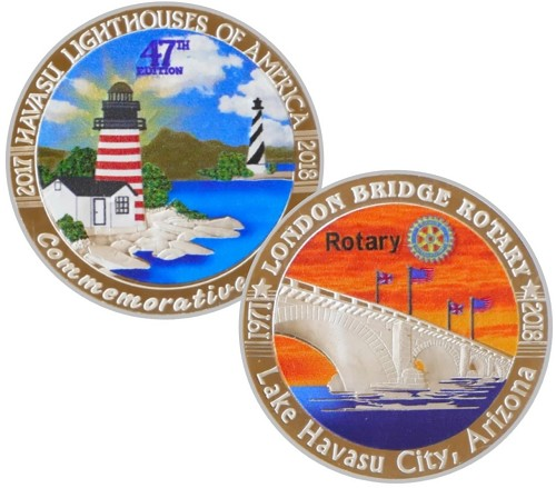 Coin #47 - 2017-18 Color, No longer available